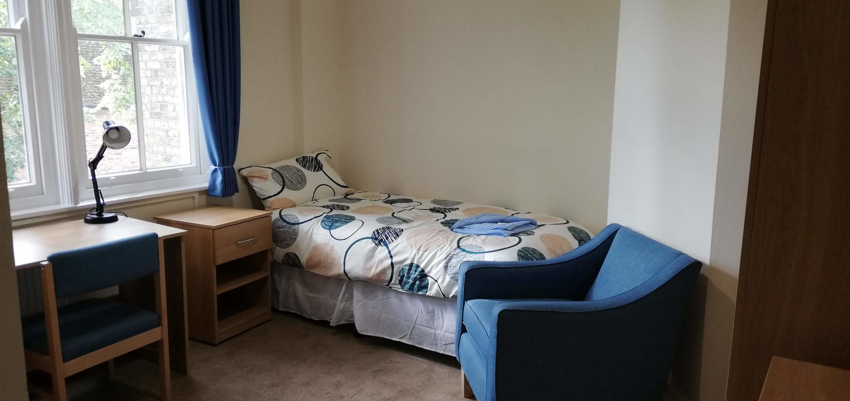 Photo of a single bedroom