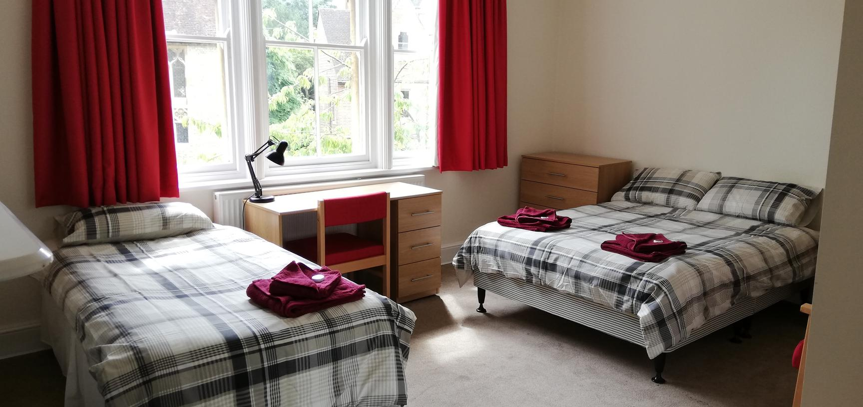 Photo of a bedroom