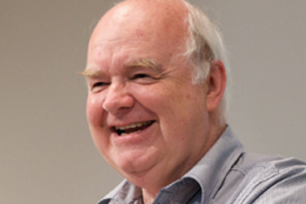 Picture of Prof. John Lennox smiling