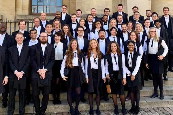 Photo of Wycliffe Hall matriculands
