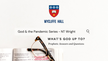 What's God Up To? -  NT Wright